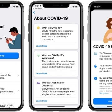 Apple releases COVID-19 App
