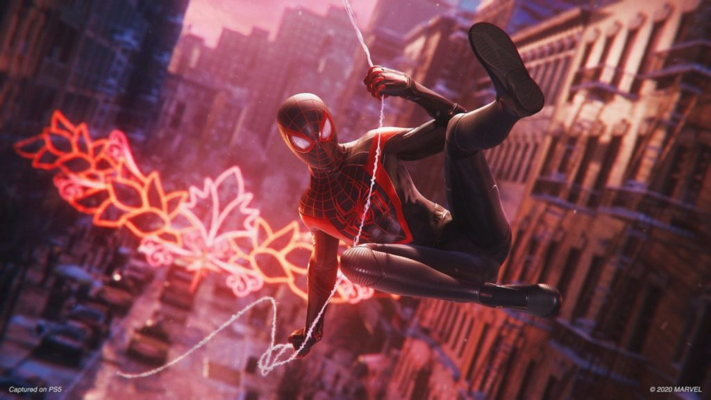 first look at PS5 Spider-Man