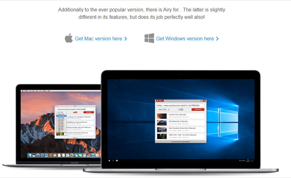 Airy for Windows and Mac
