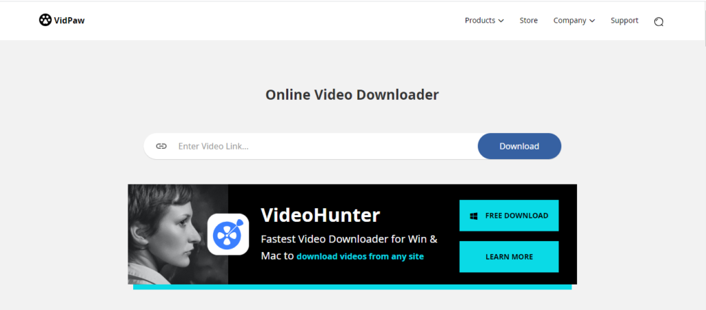 Vidpaw: Best site to download youtube videos for free